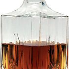 Whiskey Decanter (cut out image) on white background by JHMimaging