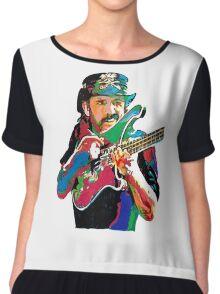 Lemmy bass motorhead Chiffon Top