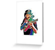 Lemmy bass motorhead Greeting Card