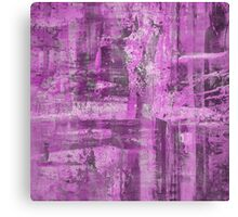 Abstract Study in Purple, pink and black Canvas Print