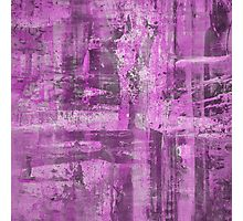 Abstract Study in Purple, pink and black Photographic Print