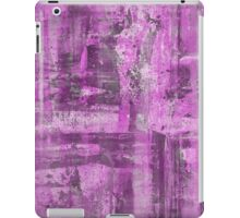 Abstract Study in Purple, pink and black iPad Case/Skin