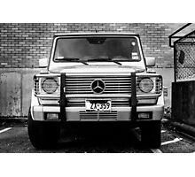 Mercedes G Class Photographic Print