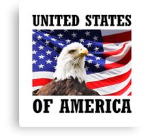 United States Of America Canvas Print