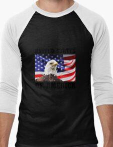 United States Of America Men's Baseball ¾ T-Shirt