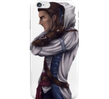 Connor Kenway realistic drawing iPhone Case/Skin