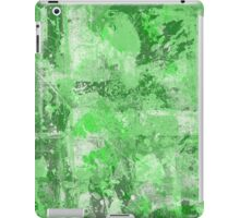 Abstract Study In Green iPad Case/Skin