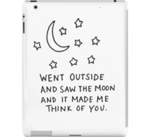 Think Of You iPad Case/Skin