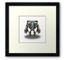 Warrior Robot Framed Print
