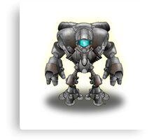 Warrior Robot Canvas Print