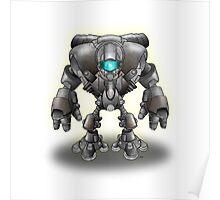 Warrior Robot Poster
