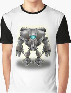 Warrior Robot Graphic T-Shirt