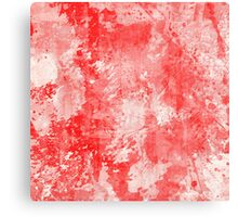 Abstract Study In Red Canvas Print