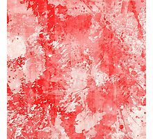 Abstract Study In Red Photographic Print