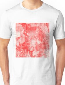 Abstract Study In Red Unisex T-Shirt