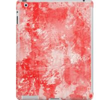 Abstract Study In Red iPad Case/Skin