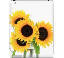Sunflowers Bouquet. iPad Case/Skin