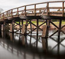 Old North Bridge by Caleb Ward