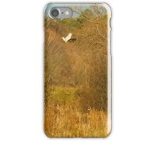 Hawk watches mouse. Photog watches hawk. Local Constabulary watches Photog... It's a win-lose game we all play iPhone Case/Skin