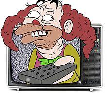 CLOWN TV ! by Eddy Voice