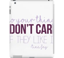 Do Your Thing iPad Case/Skin