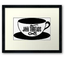 Java Threads Framed Print
