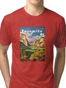 Yosemite Travel Tri-blend T-Shirt