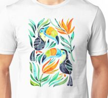 Tropical Toucans Unisex T-Shirt