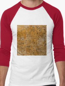 Abstract Study In Black And gold Men's Baseball ¾ T-Shirt