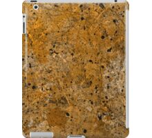 Abstract Study In Black And gold iPad Case/Skin
