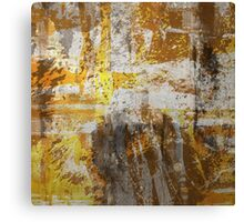 Abstract study in bronze Canvas Print