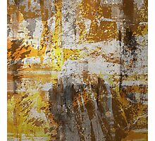Abstract study in bronze Photographic Print