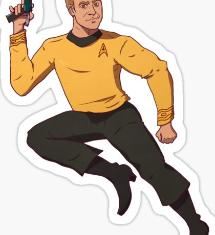Jim On The Run Sticker