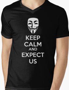 Keep calm and expect us Mens V-Neck T-Shirt
