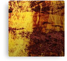 Fiery Metal Canvas Print