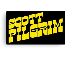Scott Pilgrim Logo Canvas Print