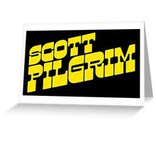 Scott Pilgrim Logo Greeting Card