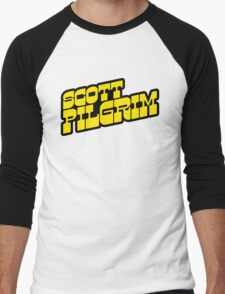 Scott Pilgrim Logo Men's Baseball ¾ T-Shirt