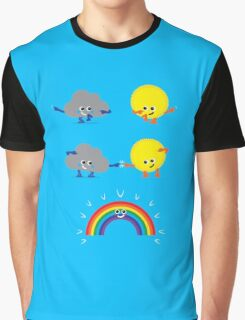 Character Fusion - Rainbow Graphic T-Shirt