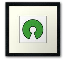Open source Framed Print