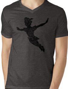 Never Say Goodbye Mens V-Neck T-Shirt