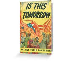 Is This Tomorrow? Greeting Card