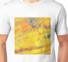 Fire On Blue Unisex T-Shirt
