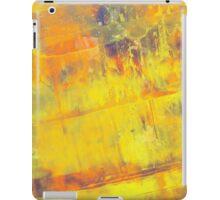 Fire On Blue iPad Case/Skin