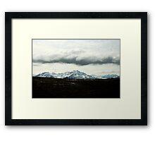 Dramatic Cloudscape Framed Print