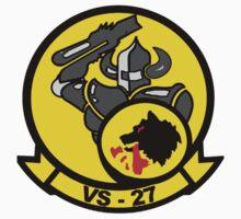 VS-27 Grim Watchdogs Kids Tee