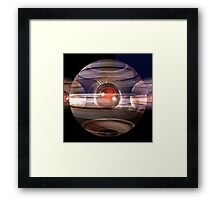 The Red Pearl Framed Print
