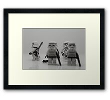 Off to find the Force. Framed Print
