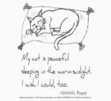 Cat Nap Haiku One Piece - Long Sleeve