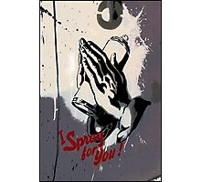 I spray for you! Photographic Print